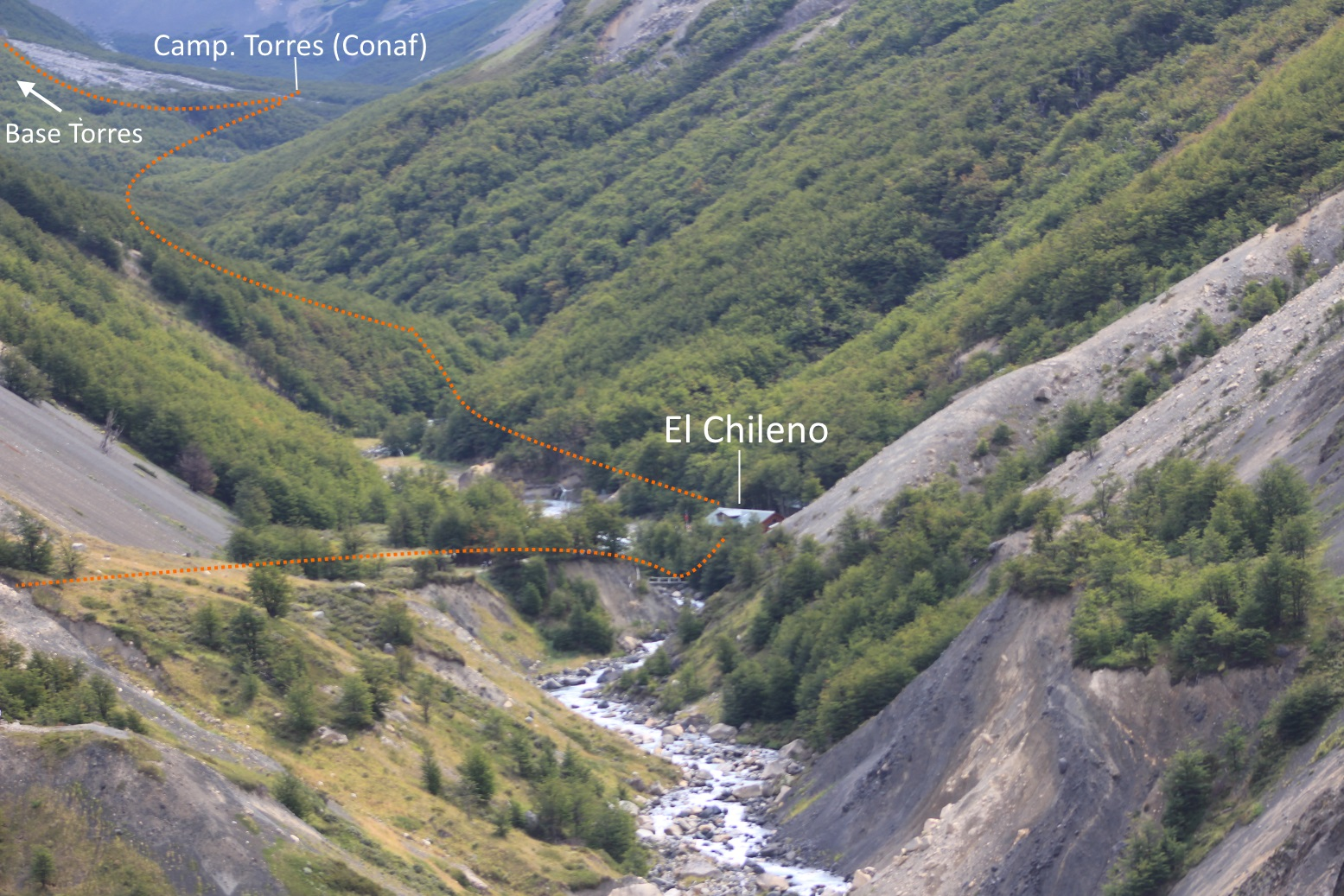 Circuito W Torres Del Paine Mapa : W trek torres del paine patagonia tours hiking in chile