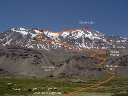 Ruta Normal Volcán San José