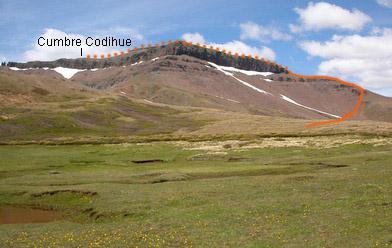 Vista ruta Codihue