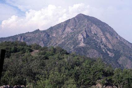 Cerro Manquehue, ruta Bosques del Polo
