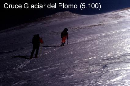 Cruzando el Glaciar
