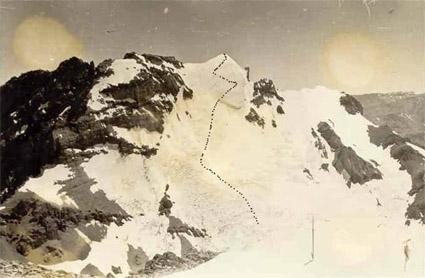 Cara Sur del Alto del Río Blanco.