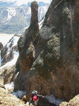Canaleta cerro Dedos