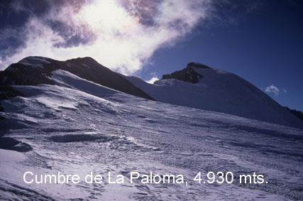 Cumbre de la Paloma
