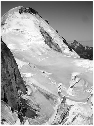 Cumbre chilena y Puntiagudo