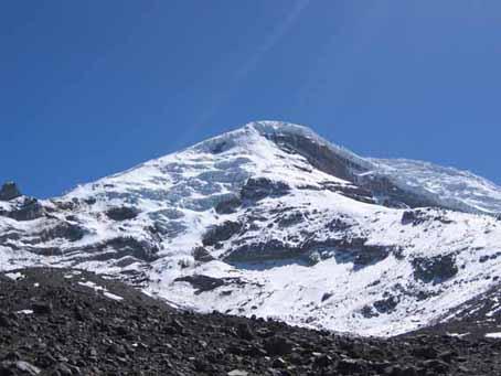 Chimborazo desde Refugio Carrel