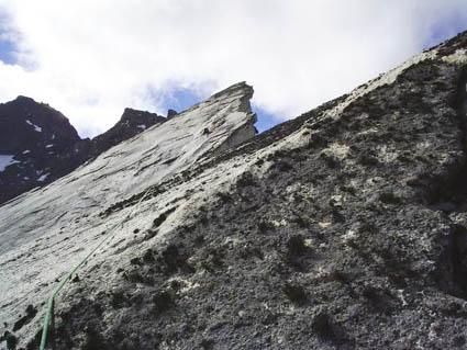 Las dos cumbres de la Aleta