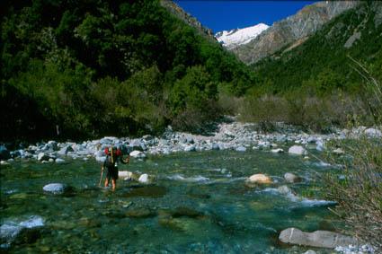 Cruce del río Ancoa