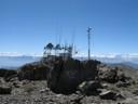 Antenas en cumbre Alto Cantillana