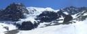 Vista panorámica Paloma y Altar (nevado)