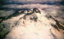 Foto aérea de la cumbre del Tronador.
