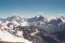 Nevado del Plomo desde el Plomo