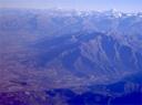 Vista aérea de la sierra del Ramón