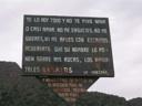 Mensaje al escalador