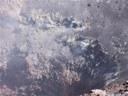 Fumarolas en el cráter del Volcán Láscar