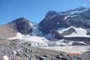 Laguna del Morado y Glaciar Colgante