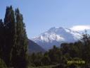 Nevado Longavi desde Potrero Grande