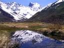 Cerro Morado desde Aguas Panimávidas