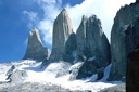 Tores del Paine, zoom in