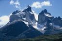 Cuernos del Paine, desde el lago Pehoe
