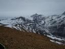 Vista hacia el norte desde cumbre
