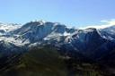 Cerro Carpa desde el Manquehue
