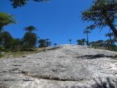 Rocas antes de la Piedra del Águila