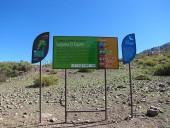 Letreros al inicio del sendero