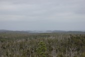 Vista al sur desde Mirador Inio