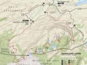 Mapa Circuito Lagunas Altas