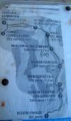 Mapa de la quebrada de Macul
