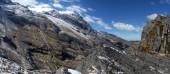 Ruta a laguna glaciar desde paso Titizani