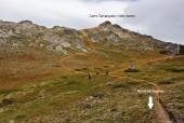 Desvío hacia el cerro Tamanguito
