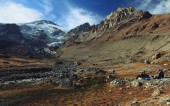 Glaciar Nieves Negras del Vn. San José