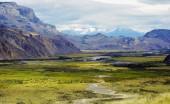 Valle del río Chacabuco hacia el oeste
