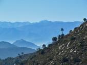 Vista hacia la cordillera de los Andes