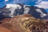 Pintor y Cerro Plomo desde La Parva