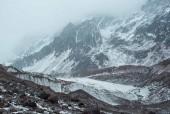 Morrena y glaciar Juncal