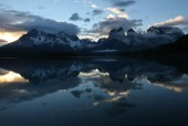 Lago Pehoe y Macizo Paine