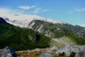 Glaciar Mapuche y estero El Pedregal