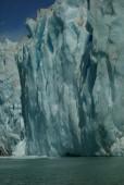 Pared de hielo en ventisquero Leones
