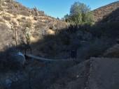 Puente sobre la quebrada