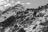 Desvío hacia la cumbre del Minillas