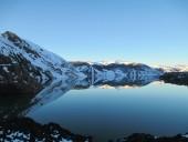 Espejo en Laguna Laja