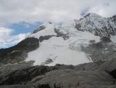 Rocas llegada a Laguna glaciar