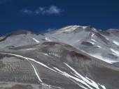 Detalle parte superior Incahuasi desde Chile