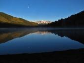 Laguna Huesquefilo al amanecer