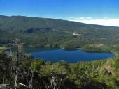 Vista a la laguna Malleco