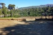 Entrada al circuito Laguna Captren