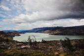 Lago Grey y Monte Ferrier
